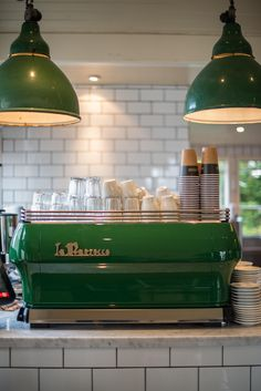 beautiful custom painted La Marzocco FB80