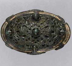 Oval brooch, Scandinavian, ca 900-1000 A.D.