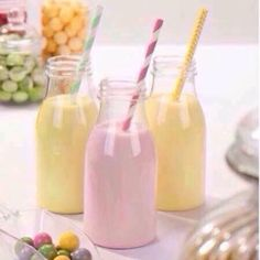 We love them! The kids love them! Who doesn't love our fabulous Vintage Glass Milk Bottles!  And at only 5.99 for a set of 4 with complimentary straws there's no excuse no to have these in your home  Available to purchase from http://ift.tt/1ph5pTT just search Milk Bottles in the search bar   #vintage #vintagemilkbottles #milkbottles #milkshake #glassmilkbottles #drinkinstyle #milk #stylishmilk #homefromhome #hfhshop