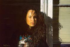 Backstreet Madonna. Oil on canvas.