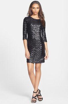 BB Dakota Sequin Sheath Dress available at #http://blogs.dallasobserver.com/unfairpark/2013/12/live_blog_winter_storm_cleon_i.php