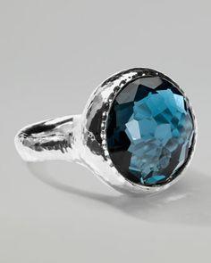 Lollipop London Blue Topaz Ring by Ippolita at Bergdorf Goodman.