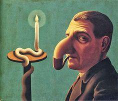 Philosopher's lamp / La Lámpara del Filósofo (1936)- René Magritte. Colección Privada