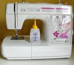 Tutorial para engrasar la máquina de coser