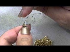 Tecnica Herringbone Circolare | Tecnica- HobbyPerline.com - YouTube