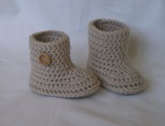baby booties bootes. Ana Ordorica · Zapatitos tejidos 4d9dd57658f28