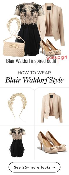 """Blair Waldorf inspired outfit/Gossi Girl"" by tvdsarahmichele on Polyvore"
