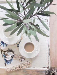 DIY Paper Olive Bran