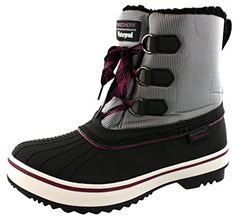 Skechers Womens HighlandersPolar Bear Winter Boot BlackGreyPurple 85 M US >>> Click image for more details.(This is an Amazon affiliate link)