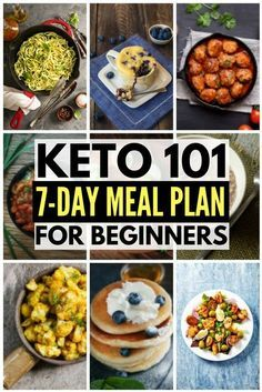 Ketogenic Diet Plan for Weight Loss: 7-Day Keto Meal Plan and Menu | If you're just starting the keto diet, want to know what it is, and need tips for beginners to help you understand what you can and cannot eat, our Keto 101 guide is for you! Full of hel