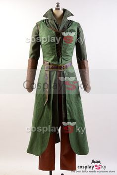The Hobbit 2/3 Elf Tauriel Outfit Cosplay Costume