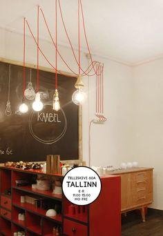Kangasjuhe - Tekstiilkaabel - Tee ise oma valgusti