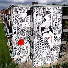 Urbane Architektur neu entdecken mit Millos Street Art