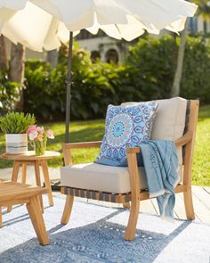 Refreshing My Summer Patio With The Help Of Homesense Pinterest Outdoor Cushions And Decor