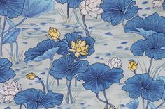 Lotus Blossom Fabric