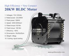 motore di 20kw BLDC per l'automobile elettrica foto su it.Made-in-China.com