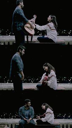 Shraddha Kapoor Cute, Arjun Kapoor, Ek Villain, Half Girlfriend, All Actress, Alphabet Wallpaper, Prettiest Actresses, Cute Love Couple, Love Songs Lyrics