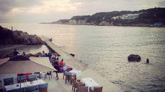 Vista da O petit monde, Sanary-Sur-Mer