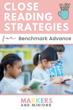 If you're struggling with Benchmark Advance review and routines, check out these close reading strategies! These Benchmark Advance guided reading teaching tips and tricks will go over the three reads method and how to implement it in your whole class reading activities and/or your reading centers. Click to check out the blog post now! Student Reading, Guided Reading, Teaching Reading, Close Reading Lessons, Close Reading Strategies, Vocabulary Activities, Reading Activities, English Grammar, Teaching English