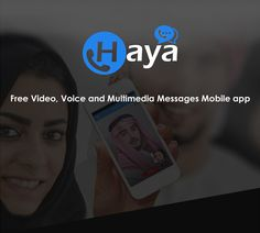Haya Android/iOS Mobile App by Sharan Surpur, via Behance Multimedia, Mobile App, Ios, Android, Behance, Messages, Free, Mobile Applications