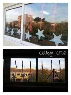 Decoració de finestres Nadal 15. 3 anys