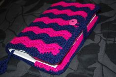 Crochet Book or Bible Cover Chevron Pattern by CraftsAndCuties