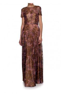 Koronkowa sukienka maxi THE ONE