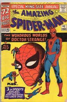 The Amazing Spider-Man Annual #2. One of the best Spider-Man stories Steve Ditko ever wrote and illustrated.