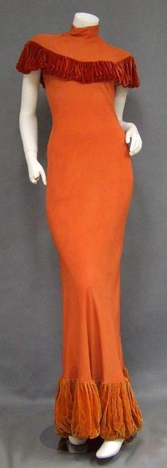 1930's bias cut gown http://www.vintageous.com/dressy2.htm