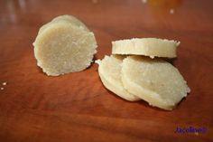 Gezond leven van Jacoline: Zelfgemaakt amandelspijs (suikervrij)