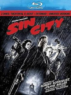 Sin City (Blu-ray Disc 2009, 2-Disc Set, Special Edition; Recut And Extended) NM 786936769616 | eBay