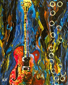 After Losing His Sight, Painter John Bramblitt Feels The Colors On His Canvas.
