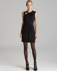 Nanette Lepore Dress - Asteroid Cut Out  Bloomingdale's