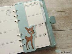 Sonderformate - Today Marker Reh Filofax, Planer - Personal - ein Designerstück von Jewelz_HH bei DaWanda