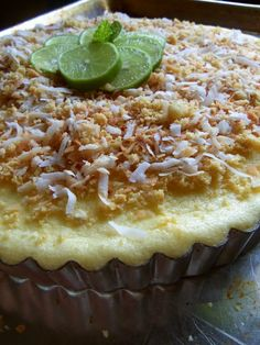 """The Lime In The Coconut"" Tart - Hispanic Kitchen"