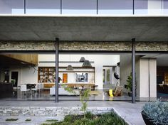 Concrete House is located in beach-side South-Eastern Melbourne amongst a neighborhood of size able blocks within an eclectic mix of mostly detached houses. ...