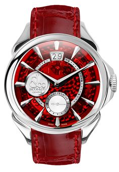 Jacob & Co. Palatial Classic Manual Big Date mineral crystal dial