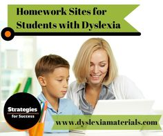 Come learn more about some amazing homework sites that can help students with dyslexia