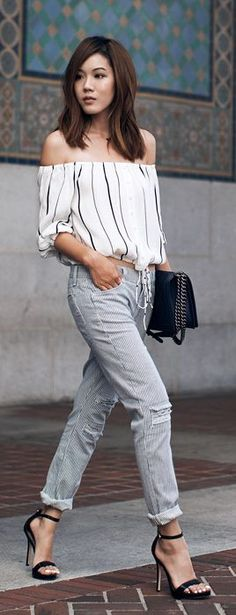 Jude Cropped Jeans Summer Streetstyle by Tsangtastic