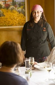 Chef Michelle loves to talk about food.