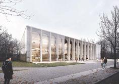 Besucherzentrum des Bundestags in Berlin - Ausstellung und alle Arbeiten der 2. Phase