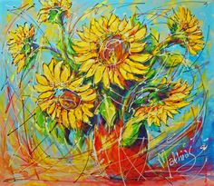 Nu in de #Catawiki veilingen: Mathias - Sunflower III