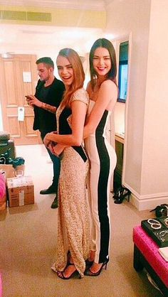 Kendall Jenner and Cara Delevingne//British Fashion Awards, 2014. Everything.