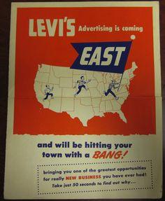 Levis 501, Levis Jeans, Denim, Vintage Outfits, Vintage Fashion, Vintage Clothing, Vintage Style, Poster Ads, Levi Strauss & Co