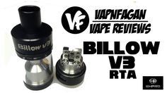 BILLOW V3 RTA by EHpro & Eciggity - VapnFagan Reviews