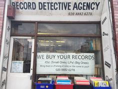 Hidden record store North London Palmers Green