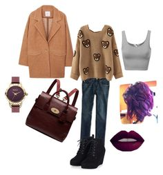 """""""Untitled #2"""" by guamex on Polyvore featuring MANGO, American Eagle Outfitters, Mulberry, Barbour, women's clothing, women, female, woman, misses and juniors"""