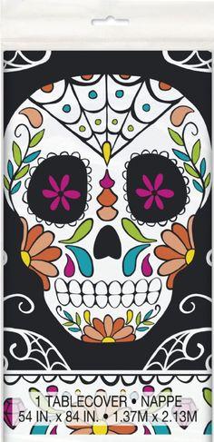 Skull Day of the Dead Crate 1:12 Miniature Dia de los Muestos Candy Treats