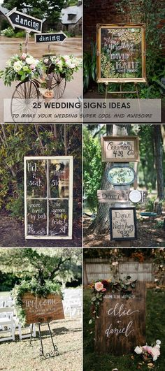 25 Wedding Signs Ideas to Make Your Wedding Super Cool and Awesome