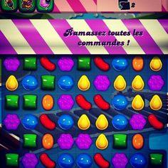 Jeu smartphone sur Android: Candy CrushSaga